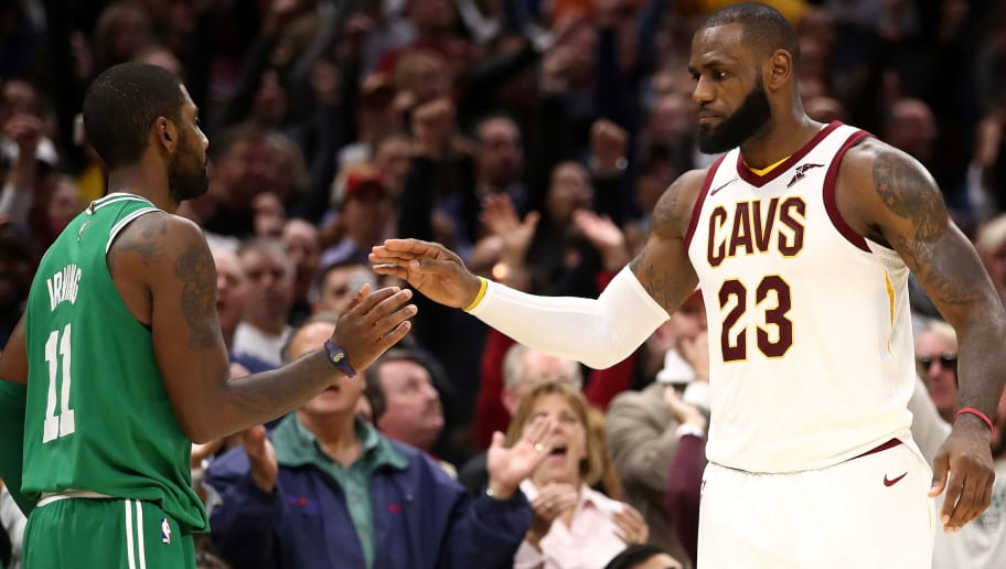 c8e030a67a88 Kyrie Called LeBron While He Was at Dinner With Kevin Love to Apologize for  Past Grudges