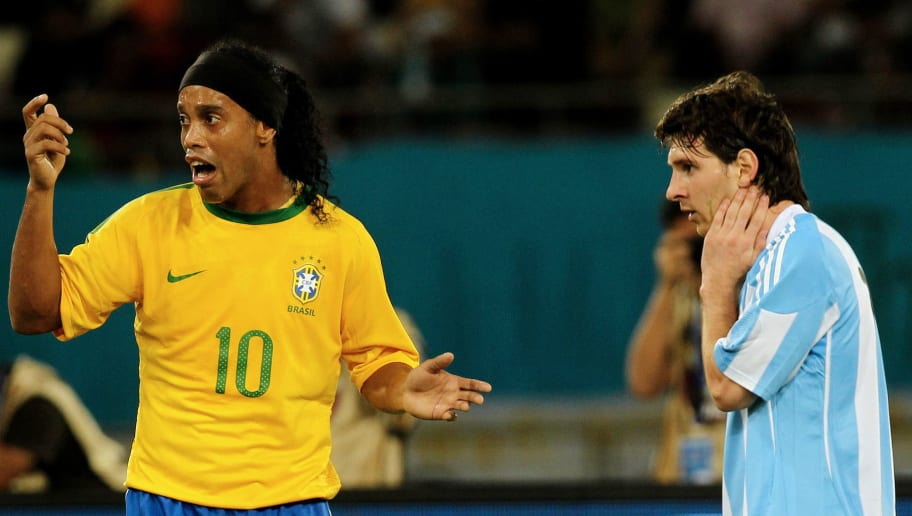 Ronaldinho Claims Lionel Messi Is Not the Best Player of All Time