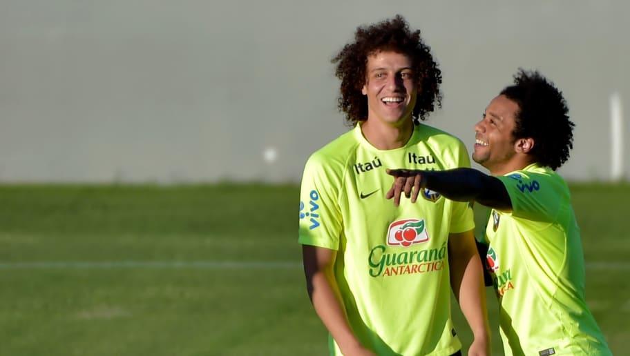 David luiz,Marcelo