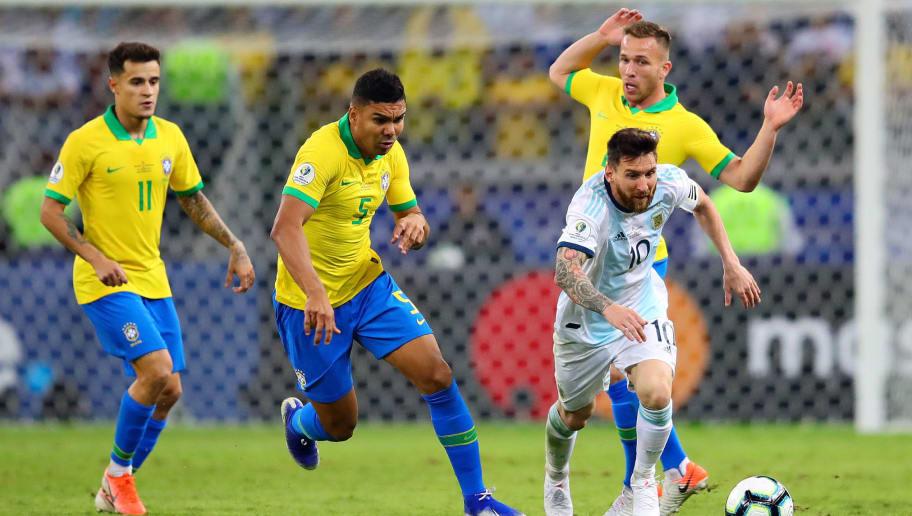 Casemiro,Arthur,Lionel Messi