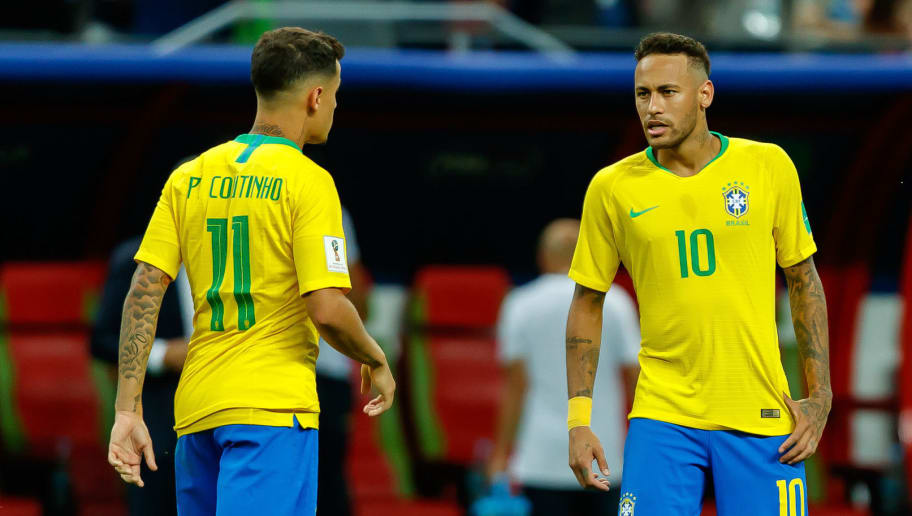 Phlippe Coutinho,Neymar