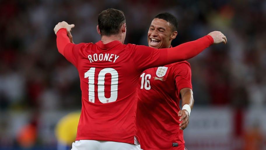 Wayne Rooney,Alex Oxlade Chamberlain