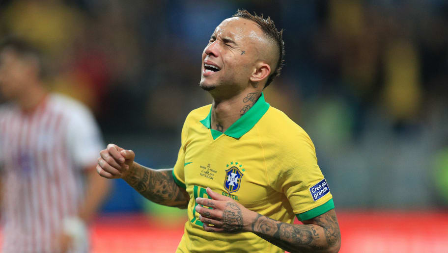 Everton Soares' Agent Provides Update on the Copa America ...