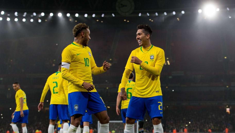Neymar Jr,Roberto Firmino