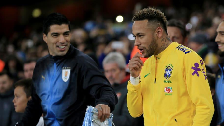Neymar,Luis Suarez