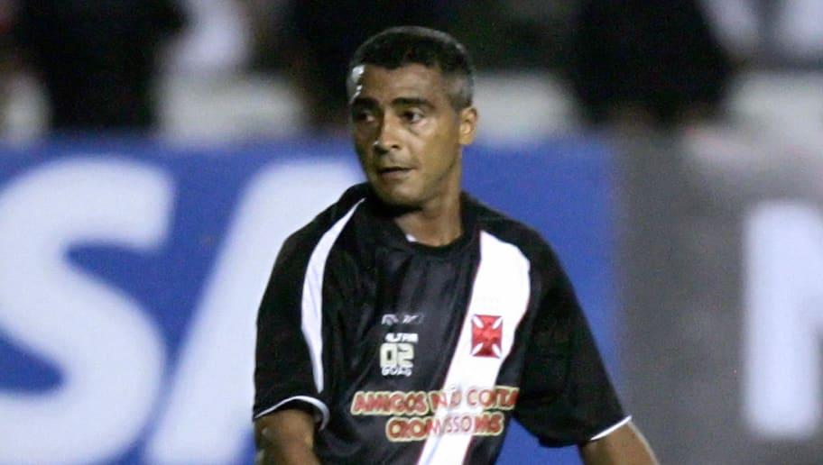 Brazilian footballer Romario de Souza Fa...