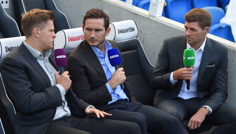 Frank Lampard,Steven Gerrard,Jake Humphrey
