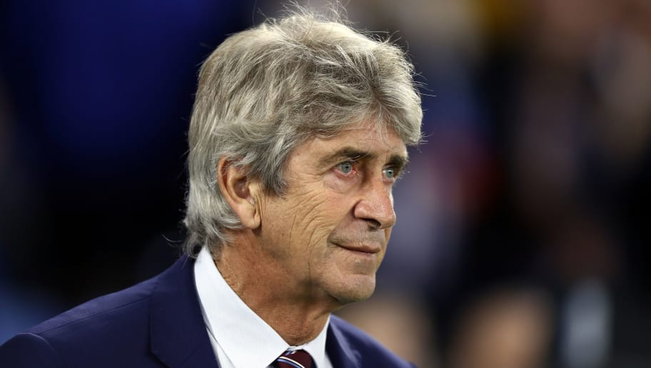 BRIGHTON, ENGLAND - OCTOBER 05:  Manuel Pellegrini, Manager of West Ham United looks on prior to the Premier League match between Brighton & Hove Albion and West Ham United at American Express Community Stadium on October 5, 2018 in Brighton, United Kingdom.  (Photo by Bryn Lennon/Getty Images)