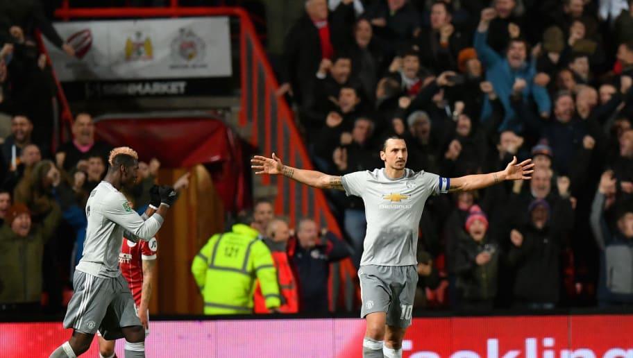 Paul Pogba,Zlatan Ibrahimovic