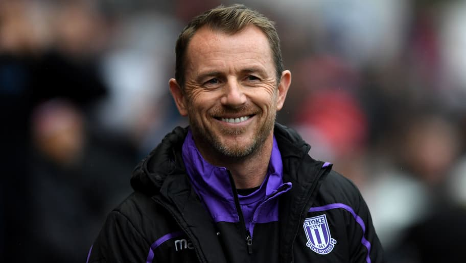 BRISTOL, ENGLAND - OCTOBER 27: Stoke City manager Gary Rowett looks on during the Sky Bet Championship match between Bristol City and Stoke City at Ashton Gate on October 27, 2018 in Bristol, England. (Photo by Alex Davidson/Getty Images)