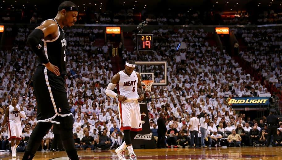 Paul Pierce,LeBron James