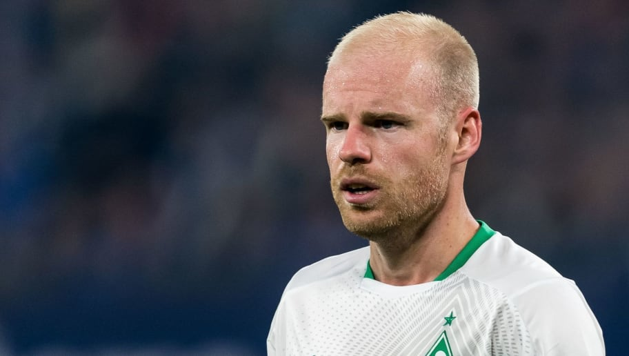Davy Klaassen of Werder Bremen DFL REGULATIONS PROHIBIT ANY USE OF PHOTOGRAPHS AS IMAGE SEQUENCES AND/OR QUASI-VIDEO. during the Bundesliga match between FC Schalke 04 and SV Werder Bremen at the Veltins Arena on October 20, 2018 in Gelsenkirchen, Germany(Photo by VI Images via Getty Images)