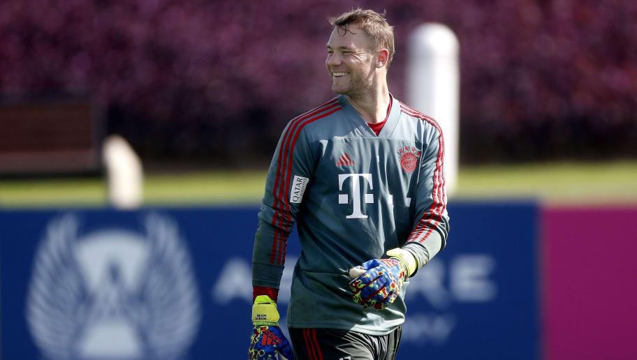 Bundesliga'Training camp of Bayern Munchen in Doha'