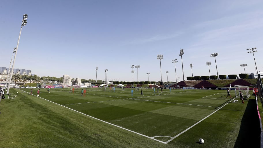 "Bundesliga""Training camp of Bayern Munchen in Doha"""