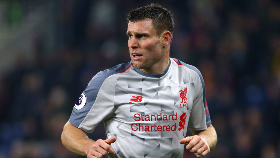 BURNLEY, ENGLAND - DECEMBER 05: James Milner of Liverpool in action during the Premier League match between Burnley FC and Liverpool FC at Turf Moor on December 5, 2018 in Burnley, United Kingdom. (Photo by Chloe Knott - Danehouse/Getty Images)