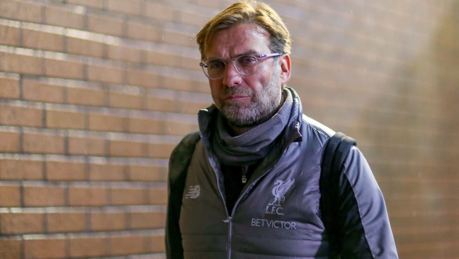 LONDON, ENGLAND - DECEMBER 05:  Liverpool Manager Jurgen Klopp arrives at the stadium ahead of the Premier League match between Burnley FC and Liverpool FC at Turf Moor on December 5, 2018 in Burnley, United Kingdom. (Photo by Chloe Knott - Danehouse/Getty Images)
