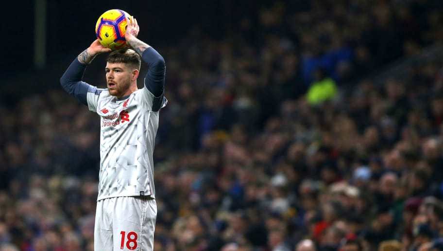 BURNLEY, ENGLAND - DECEMBER 05: Alberto Moreno of Liverpool during the Premier League match between Burnley FC and Liverpool FC at Turf Moor on December 5, 2018 in Burnley, United Kingdom. (Photo by Chloe Knott - Danehouse/Getty Images)