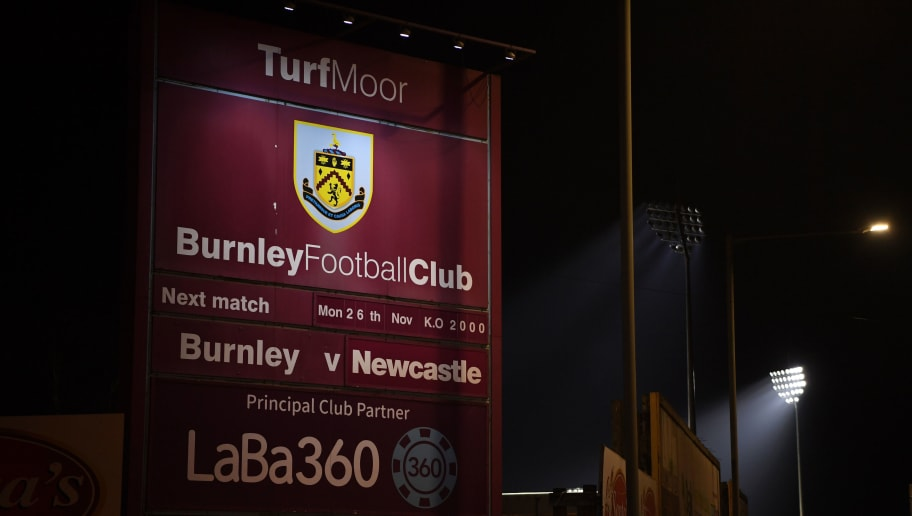 BURNLEY, ENGLAND - NOVEMBER 26:  General view outside the stadium prior to the Premier League match between Burnley FC and Newcastle United at Turf Moor on November 26, 2018 in Burnley, United Kingdom.  (Photo by Gareth Copley/Getty Images)