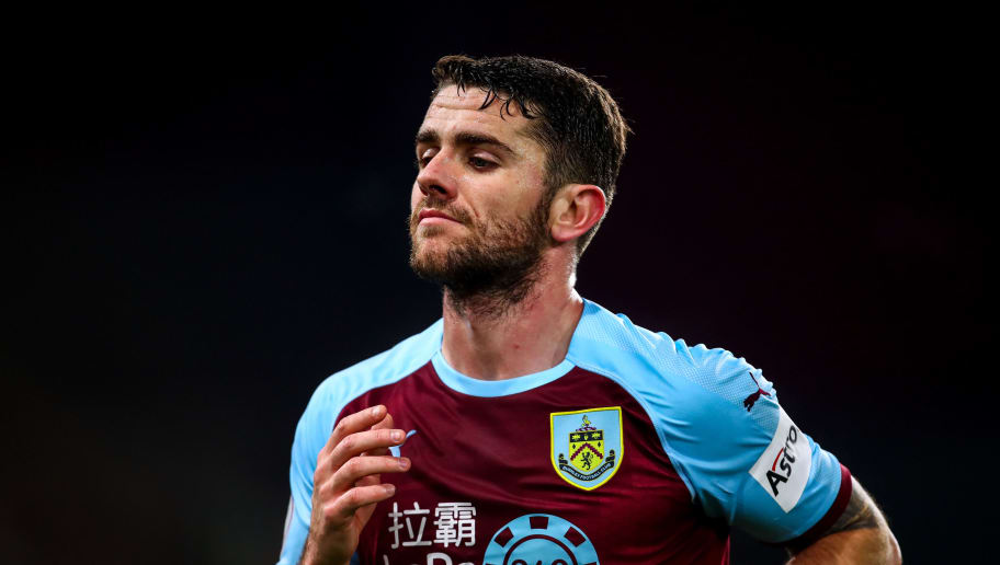 BURNLEY, ENGLAND - NOVEMBER 26: Robbie Brady of Burnley  during the Premier League match between Burnley FC and Newcastle United at Turf Moor on November 26, 2018 in Burnley, United Kingdom. (Photo by Robbie Jay Barratt - AMA/Getty Images)