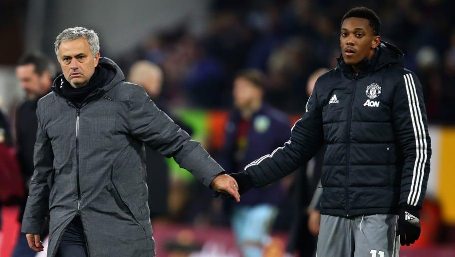 Jose Mourinho,Anthony Martial