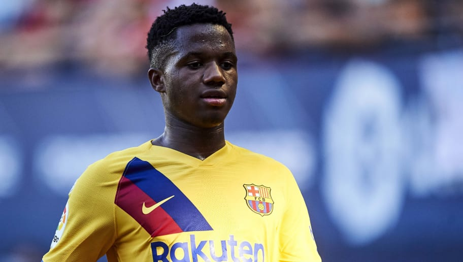 Barcelona Wonderkid Ansu Fati Makes Decision on Who to Represent at International Level