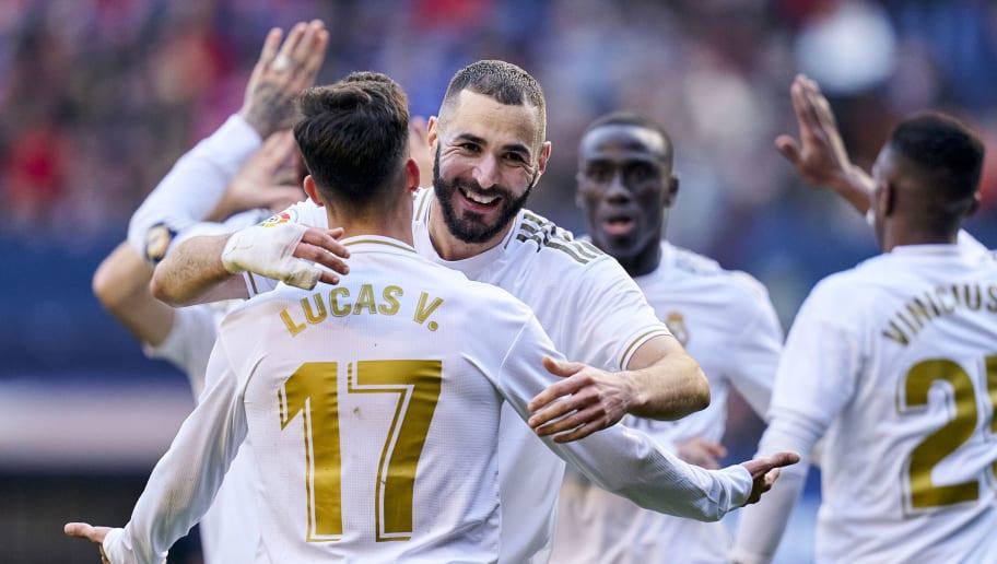Karim Benzema,Lucas Vazquez