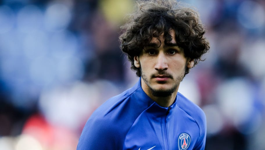 CAEN, FRANCE - MAY 19: Yacine Adli of Paris Saint Germain during the French League 1  match between Caen v Paris Saint Germain at the Stade Michel d Ornano on May 19, 2018 in Caen France (Photo by Erwin Spek/Soccrates/Getty Images)