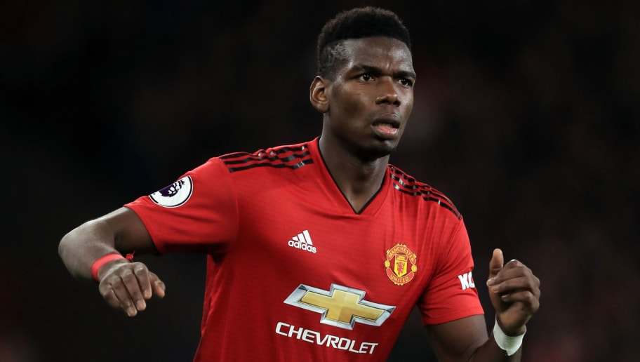 CARDIFF, WALES - DECEMBER 22:  Paul Pogba of Manchester United during the Premier League match between Cardiff City and Manchester United at Cardiff City Stadium on December 22, 2018 in Cardiff, United Kingdom. (Photo by Marc Atkins/Getty Images)