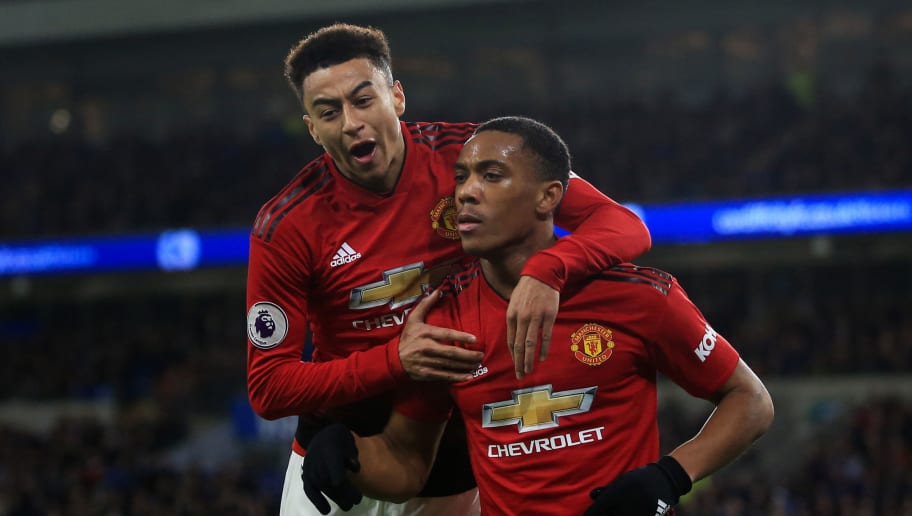 Anthony Martial,Jesse Lingard