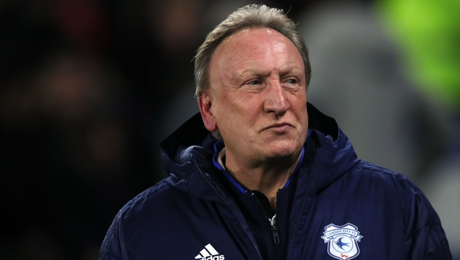 CARDIFF, WALES - NOVEMBER 30: Cardiff City Manager \ Head Coach Neil Warnock during the Premier League match between Cardiff City and Wolverhampton Wanderers at Cardiff City Stadium on November 30, 2018 in Cardiff, United Kingdom. (Photo by Molly Darlington - AMA/Getty Images)