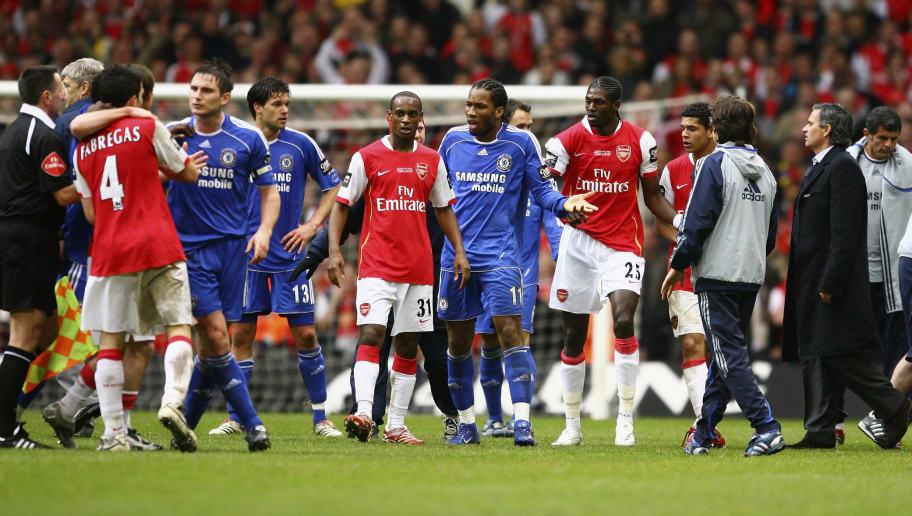 Arsene Wenger,Jose Mourinho,Didier Drogba