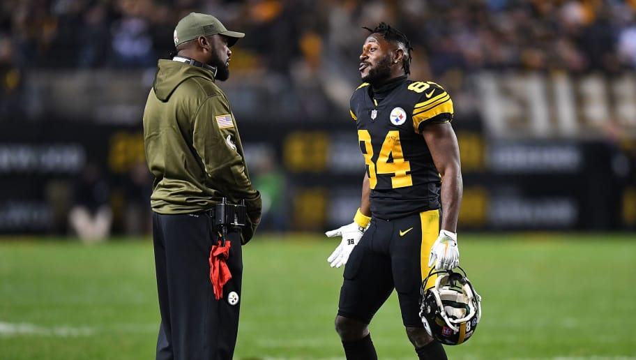 c21cec29 Mike Tomlin Essentially Calls Out Antonio Brown for Not Communicating With  Team
