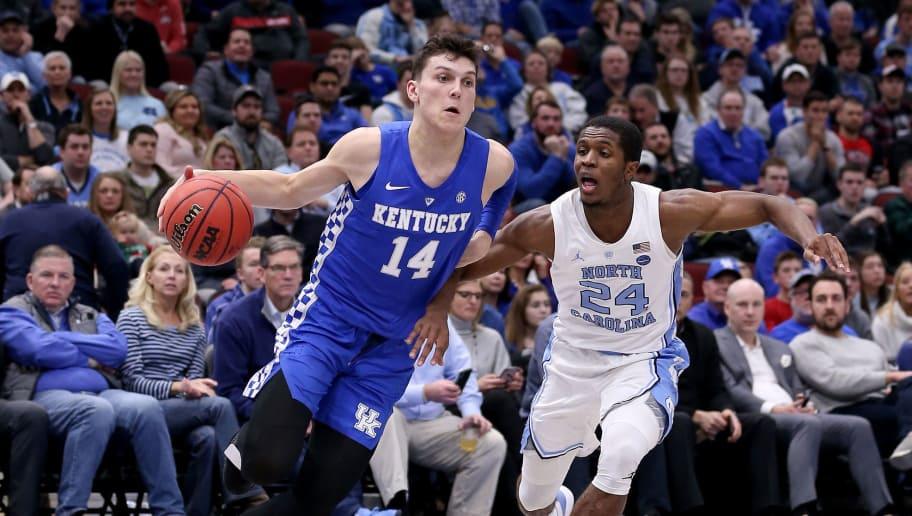Uk Basketball: No. 19 Kentucky Takes Down No. 9 North Carolina In