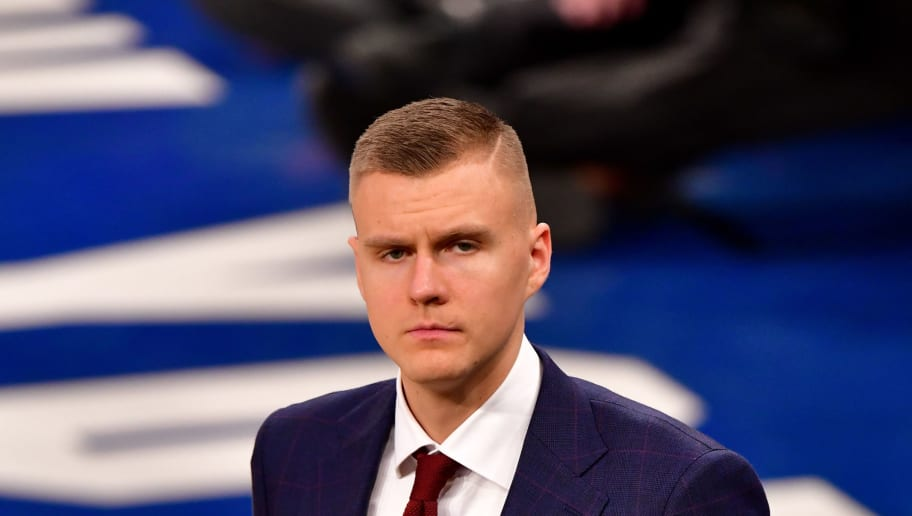 fa6d46317087 NBA Insider Claims Kristaps Porzingis Absurdly Had No Interest in Playing  With Kevin Durant