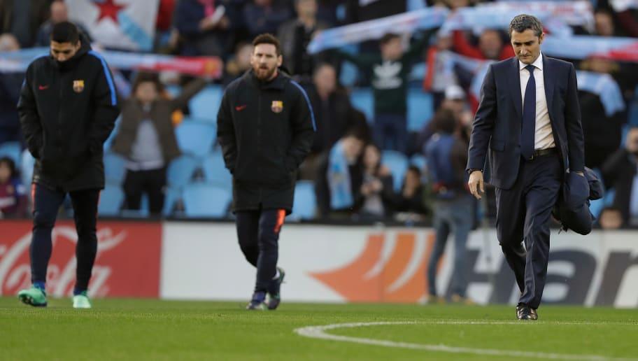 Ernesto Valverde,Lionel Messi,Luis Suarez