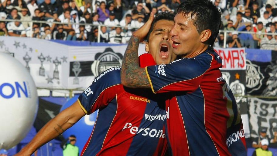 Cerro Porteño's players Santiago Salcedo