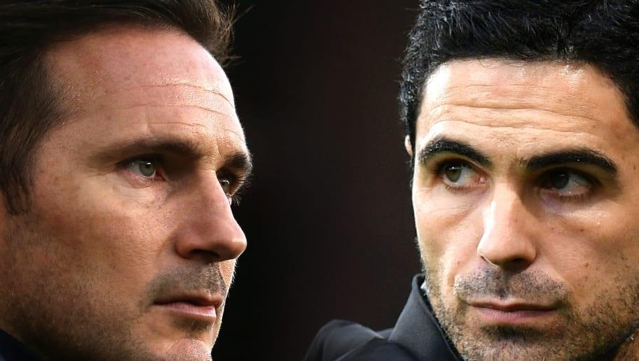 Frank Lampard,Mikel Arteta