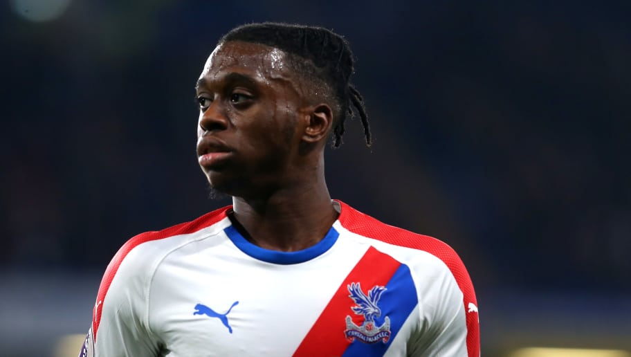 LONDON, ENGLAND - NOVEMBER 04: Aaron Wan-Bissaka of Crystal Palace in action during the Premier League match between Chelsea FC and Crystal Palace at Stamford Bridge on November 04, 2018 in London, United Kingdom. (Photo by Chloe Knott - Danehouse/Getty Images)