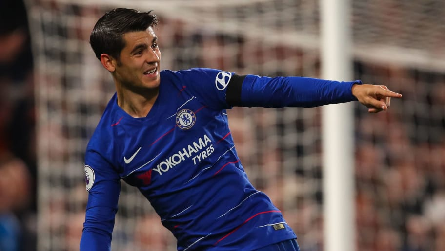 Report: Sevilla have held preliminary talks with agent of Chelsea striker Alvaro Morata