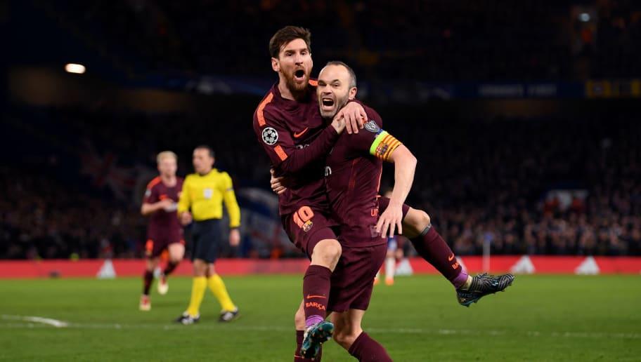 Lionel Messi,Andres Iniesta