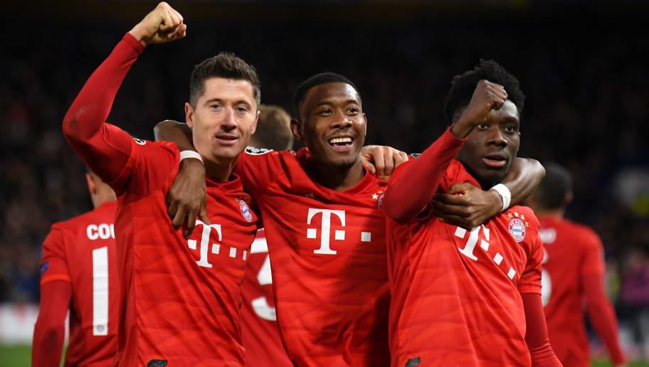 Robert Lewandowski,David Alaba,Alphonso Davies