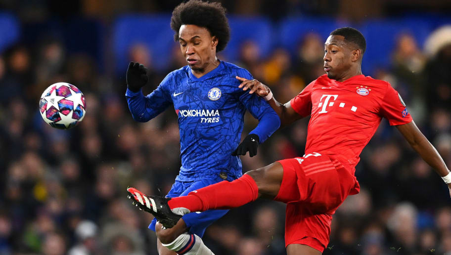 Willian,David Alaba