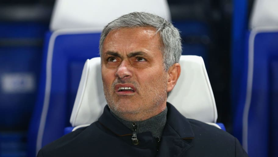 LONDON, ENGLAND - DECEMBER 09:  Jose Mourinho, Manager of Chelsea looks on ahead of the UEFA Champions League Group G match between Chelsea FC and FC Porto at Stamford Bridge on December 9, 2015 in London, United Kingdom.  (Photo by Clive Mason/Getty Images)