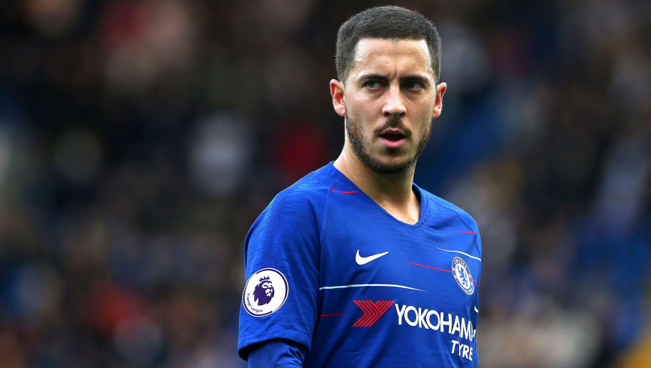LONDON, ENGLAND - DECEMBER 02:  Eden Hazard of Chelsea FC in action during the Premier League match between Chelsea FC and Fulham FC at Stamford Bridge on December 2, 2018 in London, United Kingdom. (Photo by Chloe Knott - Danehouse/Getty Images)