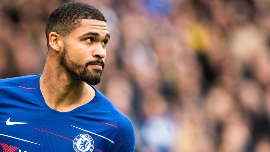 LONDON, ENGLAND - DECEMBER 02: Ruben Loftus-Cheek of Chelsea FC looks on during the Premier League match between Chelsea FC and Fulham FC at Stamford Bridge on December 2, 2018 in London, United Kingdom. (Photo by Sebastian Frej/MB Media/Getty Images)