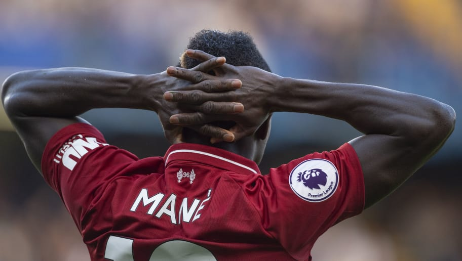 LONDON, ENGLAND - SEPTEMBER 29: Sadio Mané of Liverpool during the Premier League match between Chelsea FC and Liverpool FC at Stamford Bridge on September 29, 2018 in London, United Kingdom. (Photo by Visionhaus/Getty Images)