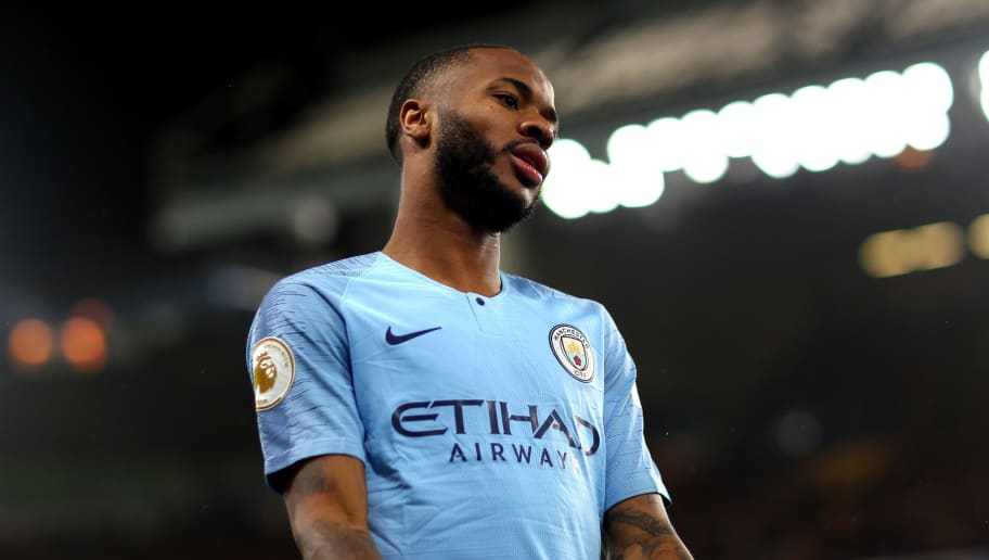 LONDON, ENGLAND - DECEMBER 08, Raheem Sterling of Manchester City in action during the Premier League match between Chelsea FC and Manchester City at Stamford Bridge on December 8, 2018 in London, United Kingdom. (Photo by Chloe Knott - Danehouse/Getty Images)