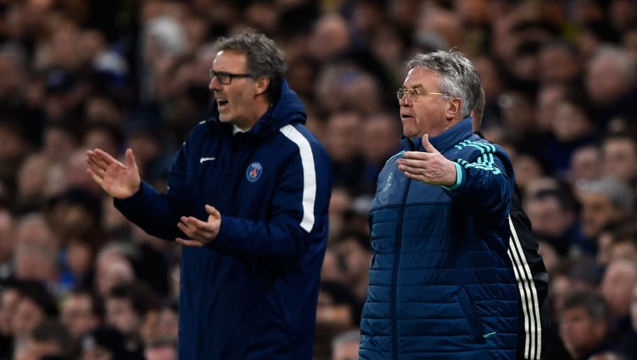 Laurent Blanc,Guus Hiddink