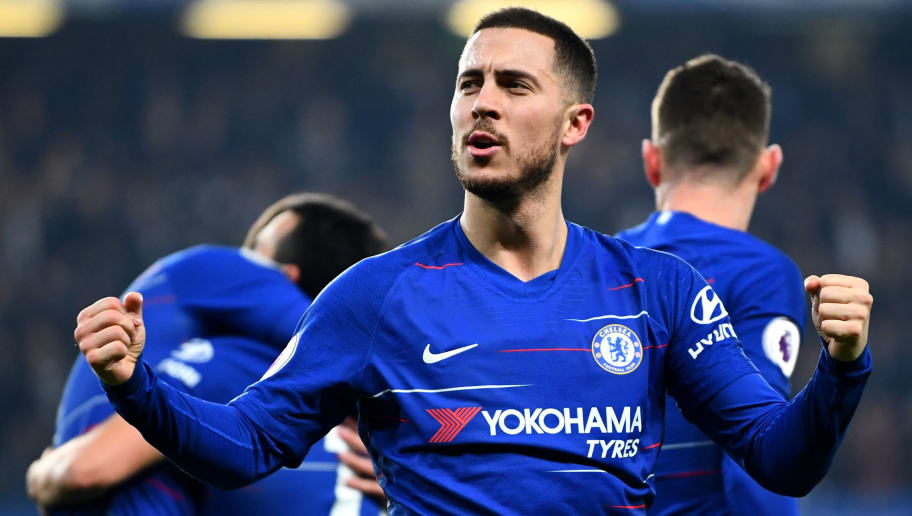 Eden Hazard Named Chelsea S Player Of The Year As Part Of Unprecedented Awards Treble 90min