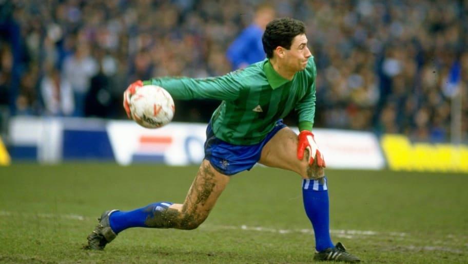 Chelsea goalkeeper Steve Francis